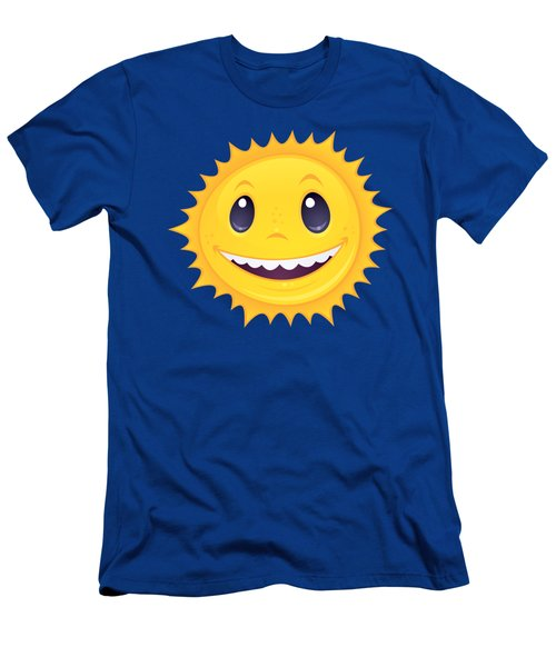 Smiley Sun Men's T-Shirt (Athletic Fit)