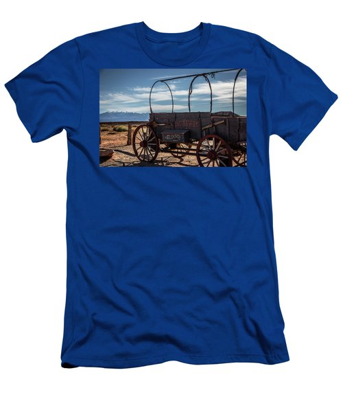 Men's T-Shirt (Athletic Fit) featuring the photograph Snake Oil by David Morefield