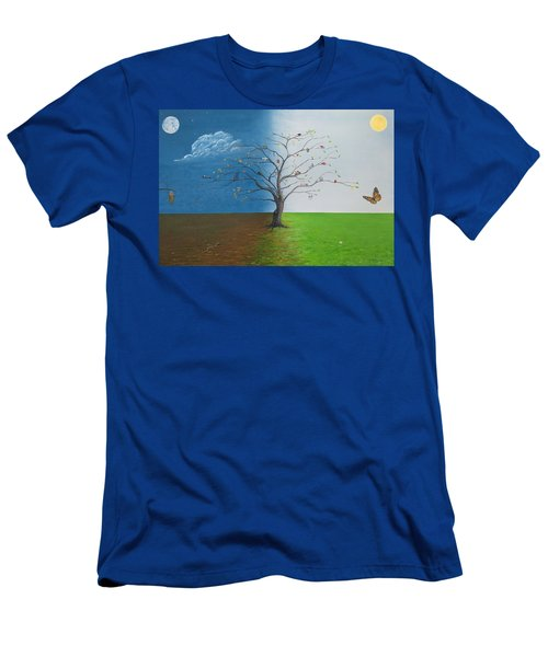 Spirit Of Eden Men's T-Shirt (Athletic Fit)