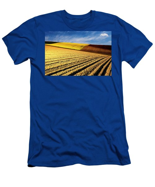 Spring Fields Men's T-Shirt (Athletic Fit)