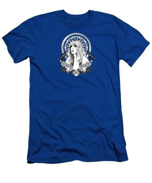 Stevie Nicks Angel Of Dreams Icon Men's T-Shirt (Athletic Fit)