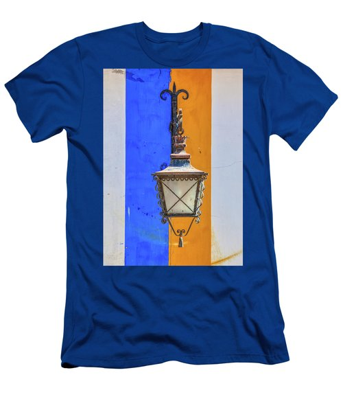 Street Lamp Of Obidos Men's T-Shirt (Athletic Fit)