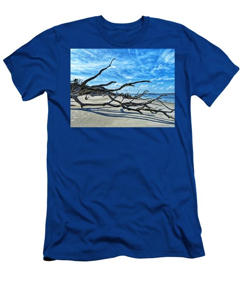Stretch By The Sea Men's T-Shirt (Athletic Fit)
