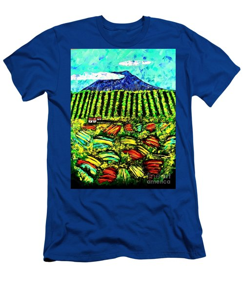 Sumatra Coffee Plantation Men's T-Shirt (Athletic Fit)