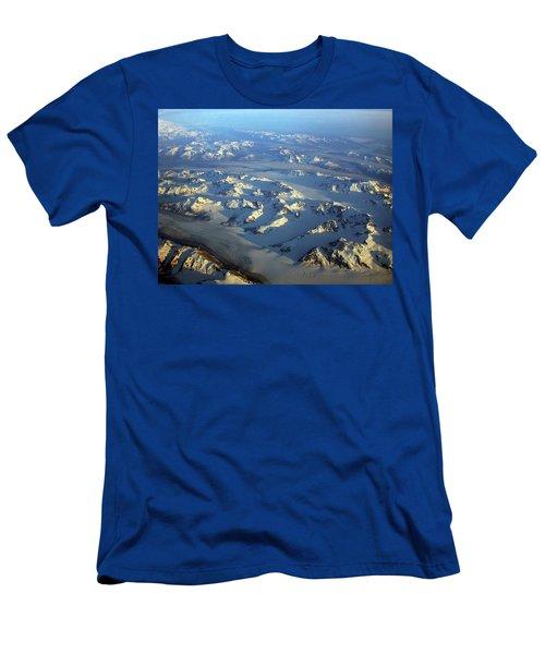 Sun Kissed Glaciers Men's T-Shirt (Athletic Fit)