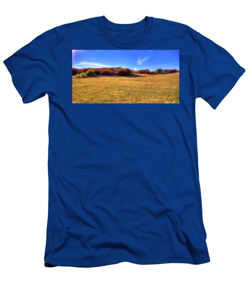 Men's T-Shirt (Athletic Fit) featuring the photograph Sun On Magpie Forest by David Patterson