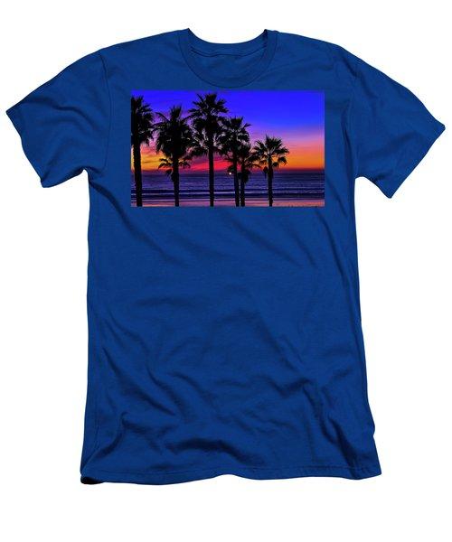 Sunset From The Ocean Park Inn Men's T-Shirt (Athletic Fit)