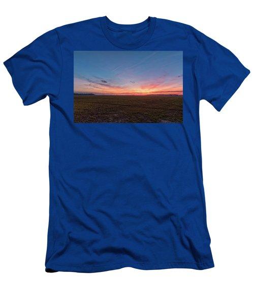 Sunset Pastures Men's T-Shirt (Athletic Fit)