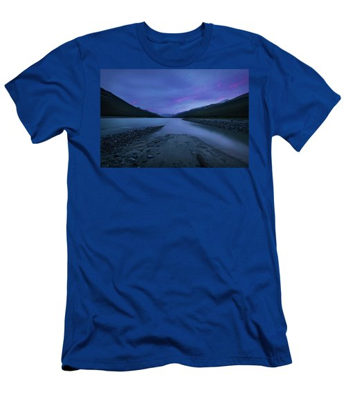 Sunwapta River Men's T-Shirt (Athletic Fit)