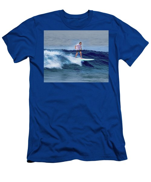 Surfing Andy Men's T-Shirt (Athletic Fit)