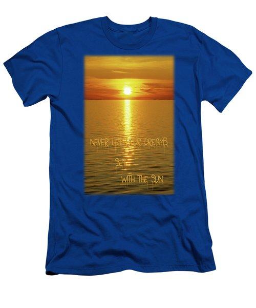 Swedish Islands Dream Men's T-Shirt (Athletic Fit)