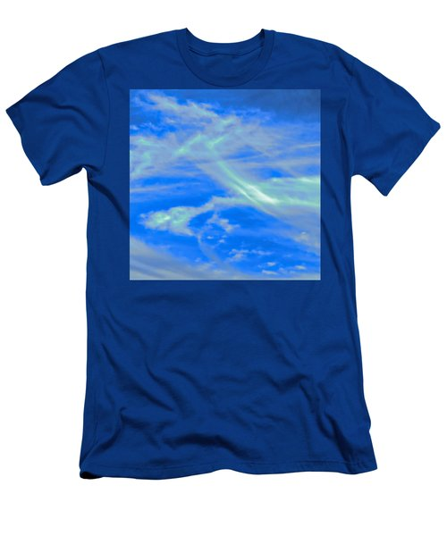 Men's T-Shirt (Athletic Fit) featuring the photograph Sylph Party by Judy Kennedy