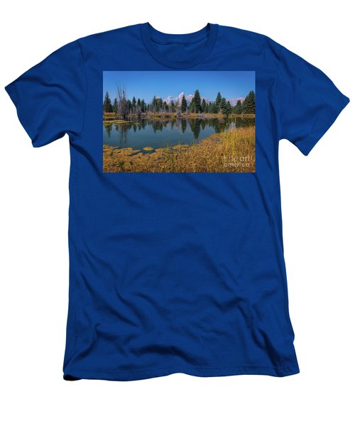 Tetons Majesty Men's T-Shirt (Athletic Fit)