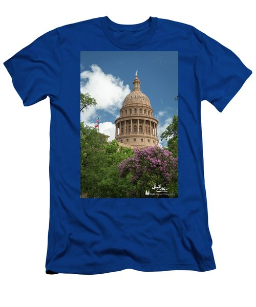 Texas Capital Building Men's T-Shirt (Athletic Fit)