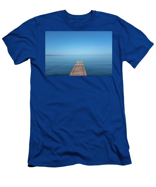 The Big Deep Blue Men's T-Shirt (Athletic Fit)