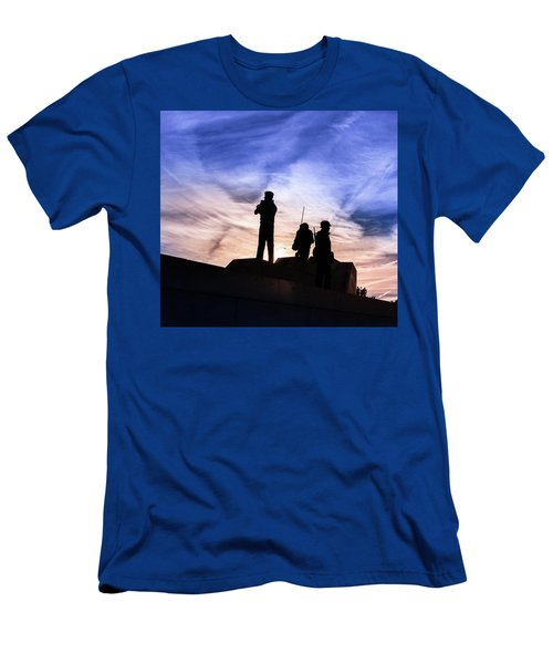 The Canadian Peacekeepers Men's T-Shirt (Athletic Fit)