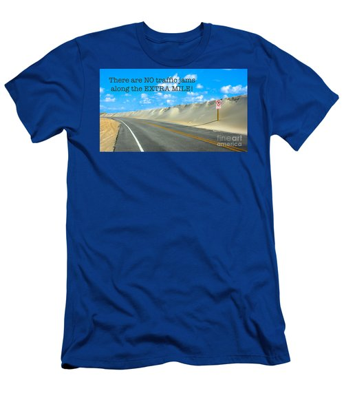 The Extra Mile Men's T-Shirt (Athletic Fit)
