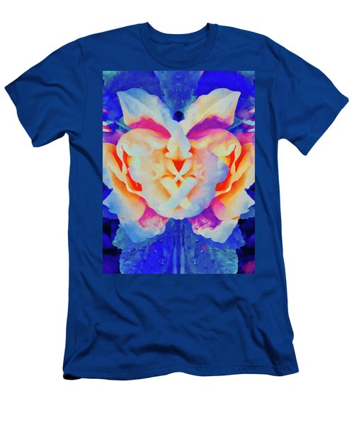 The Flower King Men's T-Shirt (Athletic Fit)