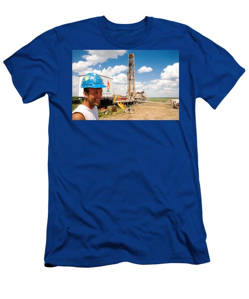 The Gas Man Men's T-Shirt (Athletic Fit)