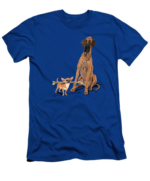 The Long And The Short And The Tall Colour Men's T-Shirt (Athletic Fit)