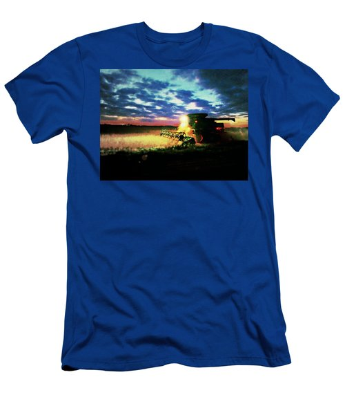 There Goes The Beans Men's T-Shirt (Athletic Fit)
