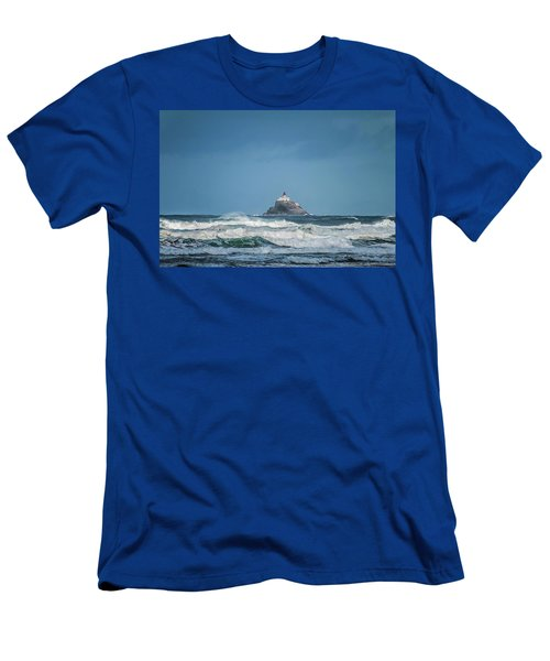 Tillamook Rock Lighthouse Near Cannon Beach Men's T-Shirt (Athletic Fit)