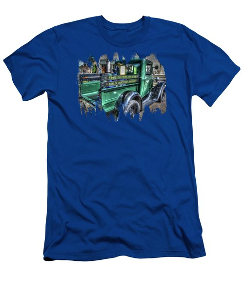 Tom's Electric Truck Men's T-Shirt (Athletic Fit)