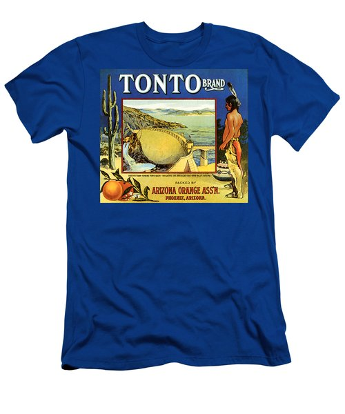 Tonto Arizona Oranges 1926 Men's T-Shirt (Athletic Fit)