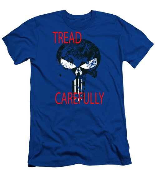 Men's T-Shirt (Athletic Fit) featuring the photograph Tread Carefully by David Millenheft