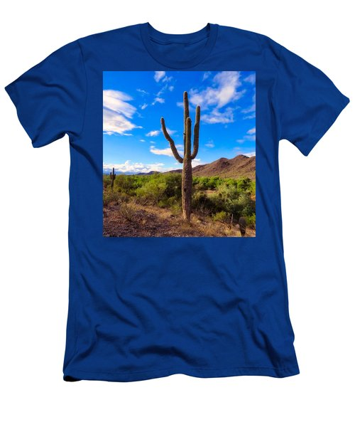 Men's T-Shirt (Athletic Fit) featuring the photograph Vekol Wash Beauty by Judy Kennedy