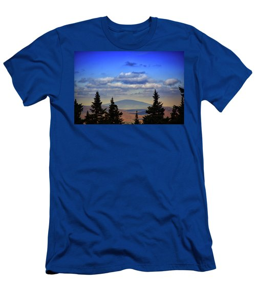Men's T-Shirt (Athletic Fit) featuring the photograph Vermont From Mount Greylock Summit by Raymond Salani III