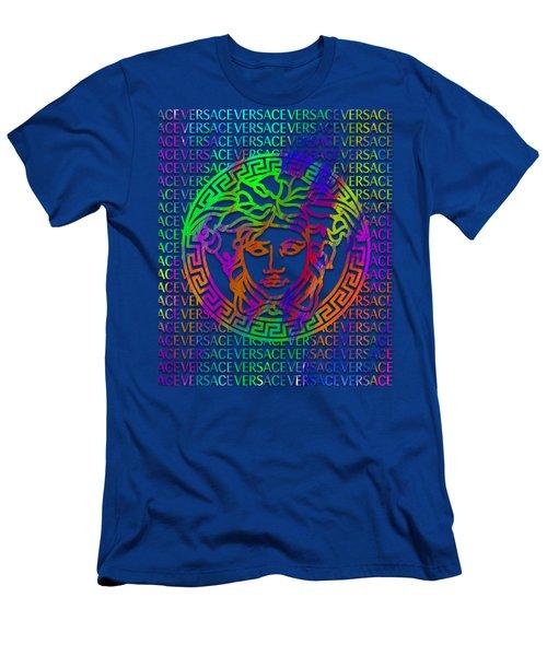 Versace Paint Pattern Design Men's T-Shirt (Athletic Fit)