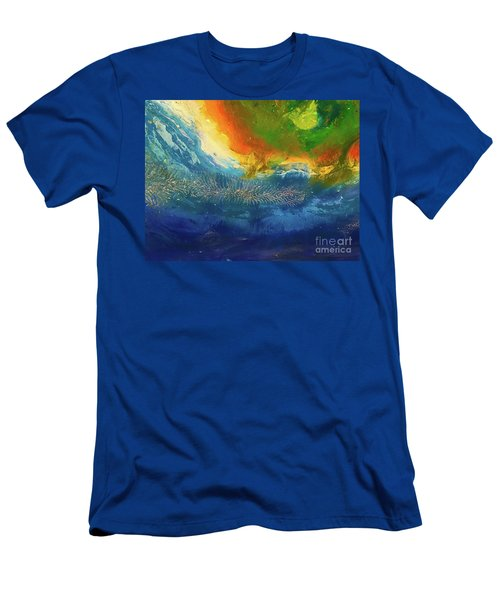 View From Space Men's T-Shirt (Athletic Fit)
