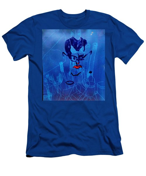 When His Face Is Blue For You Men's T-Shirt (Athletic Fit)
