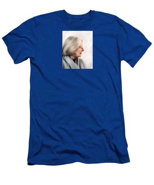 Woman In Grey Men's T-Shirt (Athletic Fit)