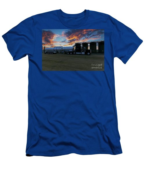 Work Truck Men's T-Shirt (Athletic Fit)