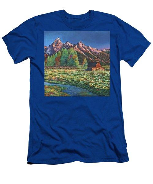 Wyoming Men's T-Shirt (Athletic Fit)