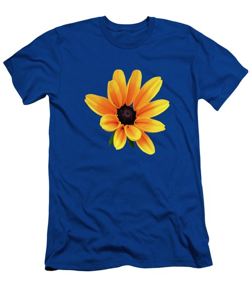 Yellow Flower Black Eyed Susan Men's T-Shirt (Athletic Fit)