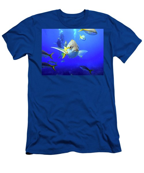 Yellowtails Men's T-Shirt (Athletic Fit)