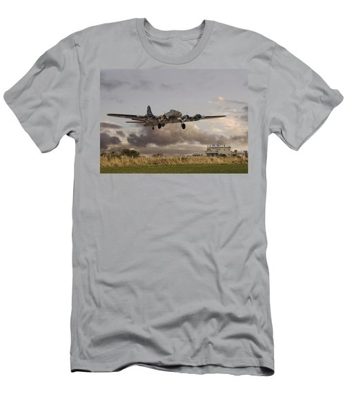 B17- 'airborne' Men's T-Shirt (Athletic Fit)
