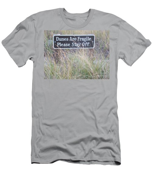 Men's T-Shirt (Slim Fit) featuring the photograph Sand Dune  by Eunice Miller