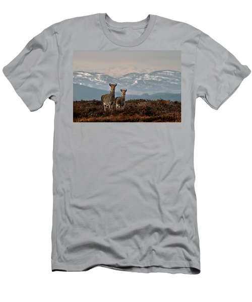 Sika Deer Men's T-Shirt (Athletic Fit)