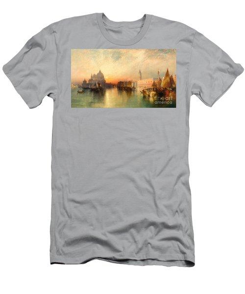 View Of Venice Men's T-Shirt (Athletic Fit)