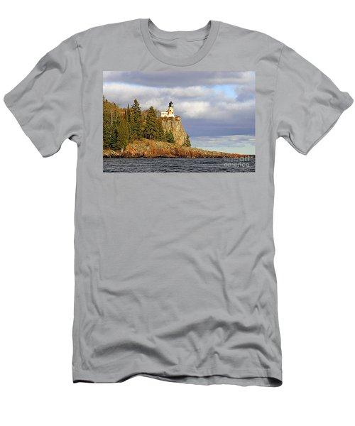 0376 Split Rock Lighthouse Men's T-Shirt (Athletic Fit)