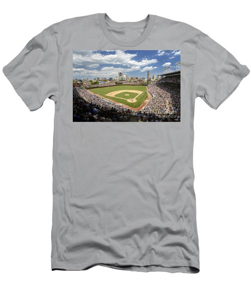 0415 Wrigley Field Chicago Men's T-Shirt (Athletic Fit)