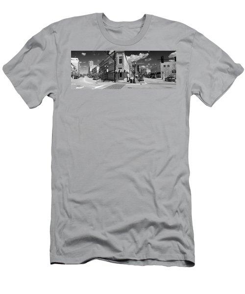 0465 Elgin Illinois Panoramic Men's T-Shirt (Athletic Fit)