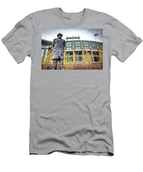 0853 Lombardi Statue Men's T-Shirt (Athletic Fit)