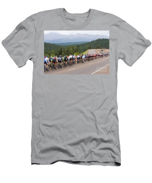 2014 Usa Pro Cycling Challenge Men's T-Shirt (Athletic Fit)