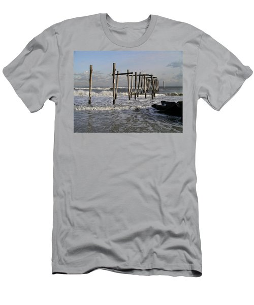 59th St. Pier Men's T-Shirt (Athletic Fit)