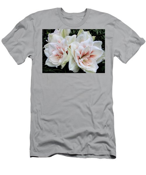 Amaryllis Cluster Men's T-Shirt (Athletic Fit)